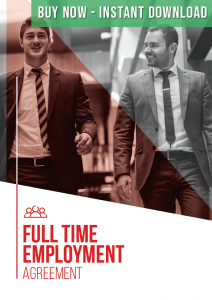 Full Time Employment Agreement Buy Now