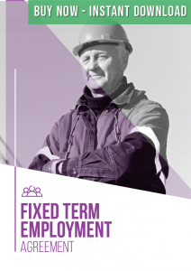 Buy Fixed Term Employment Agreement