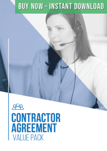 Contractor Agreement Value Pack Buy Now