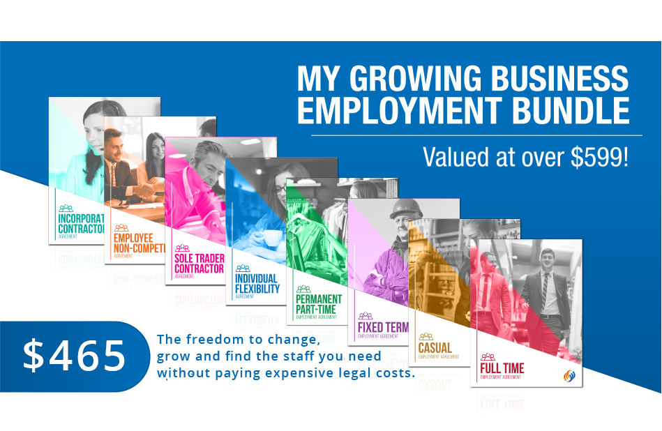 My Growing Business Employment Bundle Template Pack