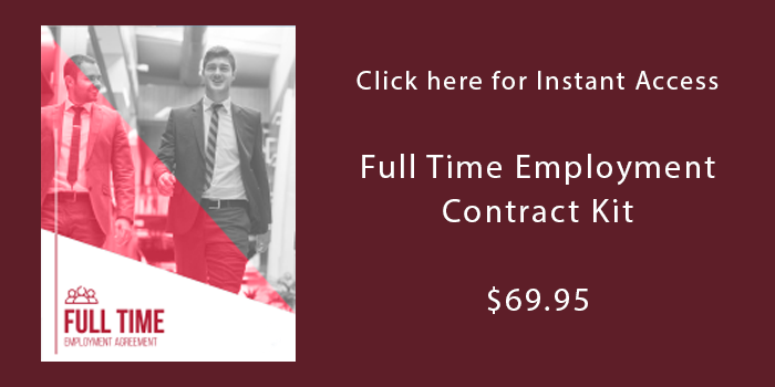 Download Full Time Employment Contract