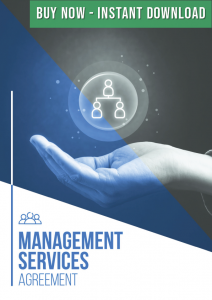 management services agreement buy now