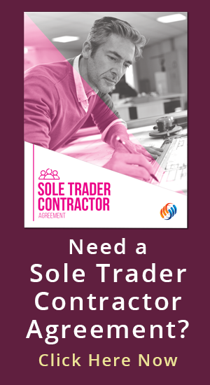 Sole Trader Contractor Button
